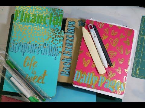 DIY Embellished Journal