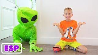 Vlad y la historia de los niños sobre extraterrestres