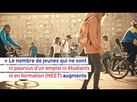 Augmentation de l'exclusion des jeunes des emplois et des formations