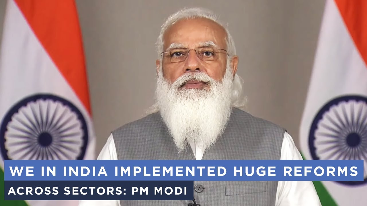 We in India implemented huge reforms across sectors: PM Modi