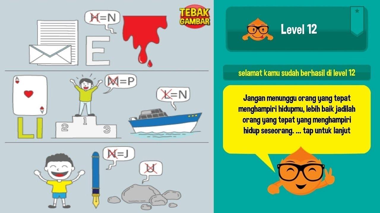Kunci Jawaban Game Tebak Gambar Level 12 Sanjau Com