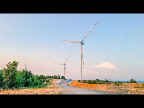 Nhà máy điện gió Đại Phong | Ngọn đồi chong chóng Mũi Né