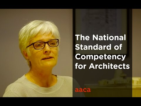National Standard of Competency for Architects