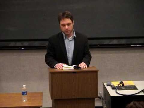 February 2008 - Nic Pizzolatto Presents Reading at DePauw University