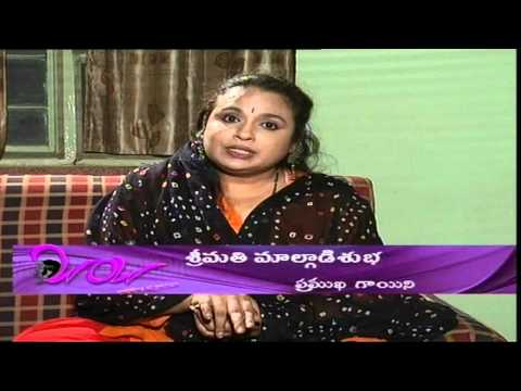 Chit Chat with Indian Playback Singer - Malgudi Subha - 01