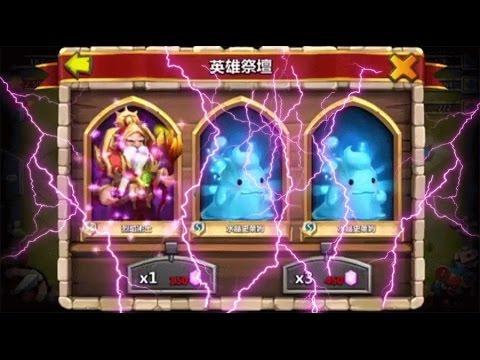 Castle Clash Rolling For Warlock!