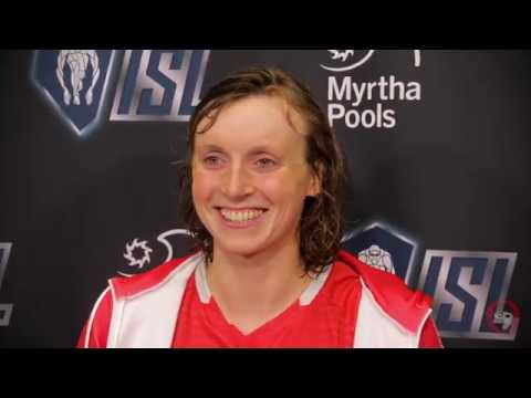Katie Ledecky in Response to American Record: