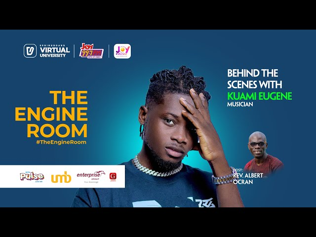 Kuami Eugene will capture your imagination in this thrilling session with Albert in #TheEngineRoom