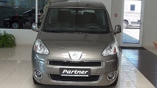 Peugeot Partner Tepee Active Mpv 1 6hdi 92 Exterior And Interior Youtube