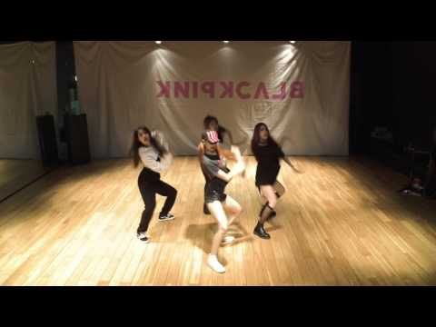 mirrored & 50% slowed BLACKPINK - AS IF ITS YOUR LAST Dance Practice