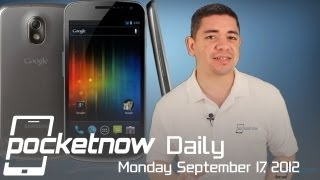 Galaxy Nexus II Leaks, iPhone 5 Pre-Order Results, HP Smartphone Thoughts & More - Pocketnow Daily