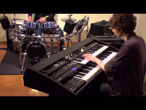 Organ & V-Drums Ensemble: The Yellow Rose of Texas (ATELIER Combo AT-350C)