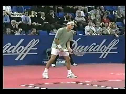 The humiliation of Andy Roddick (2002)
