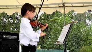 Dylan plays violin:  The Devil