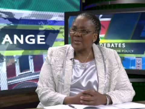 Minister of Energy Dipuo Peters on Political Exchange