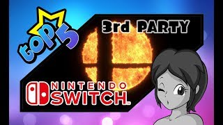 Top 5: 3rd Party Characters for Super Smash Bros. Switch (SSB5)