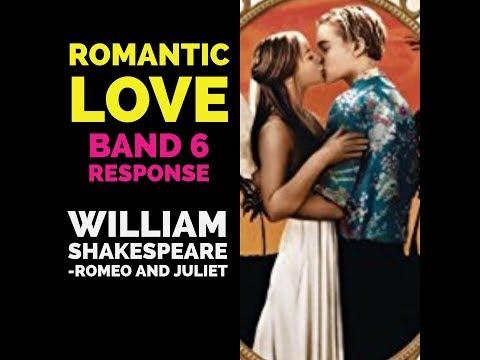 Romantic love in Romeo and Juliet (Grade 8)