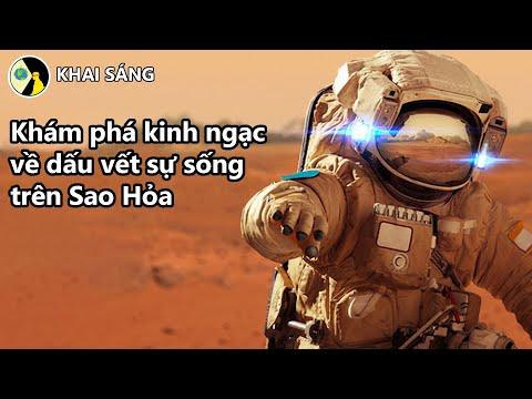 Khám phá kinh ngạc về dấu vết sự sống trên Sao Hỏa | KHAI SÁNG