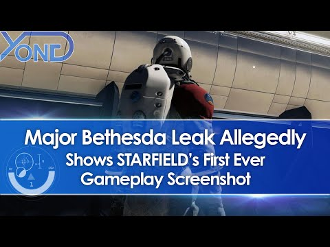 Major Bethesda Leak Allegedly Shows First Starfield Gameplay Screenshot