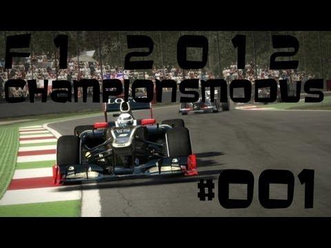Let's Play F1 2012/Championsmodus #001 Kimi Räikkönen & Lewis Hamilton[German|HD] Schwer