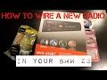 BMW Z3 Aftermarket Radio Install