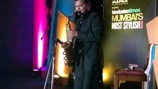 Rolling Jets - Solo Saxophone Live for Zeenat Aman Aap Jaisa Koi Mere Zindagi