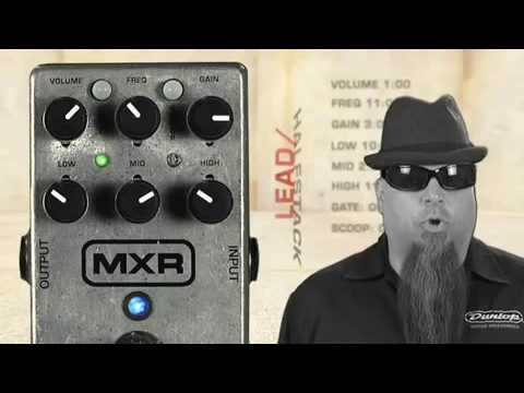 MXR M116 Fullbore Metal Distortion Pedal Video Demo