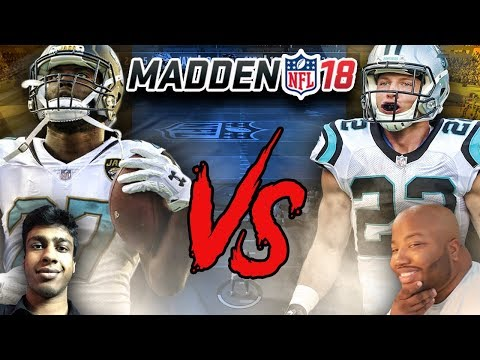 Madden 18 Gameplay Jags (Cookieboy17) vs Panthers (The Natural)