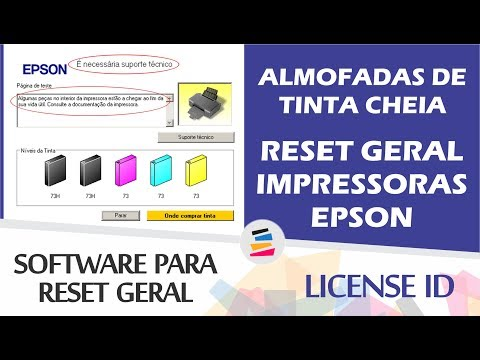 Epson L380 - Software de Ajuste e Reset Epson / Printer Adjustment Software  and Reset Software (License ID)