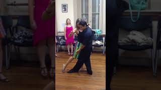 Урок танго (Буэнос-Айрес, 28.01.2014)