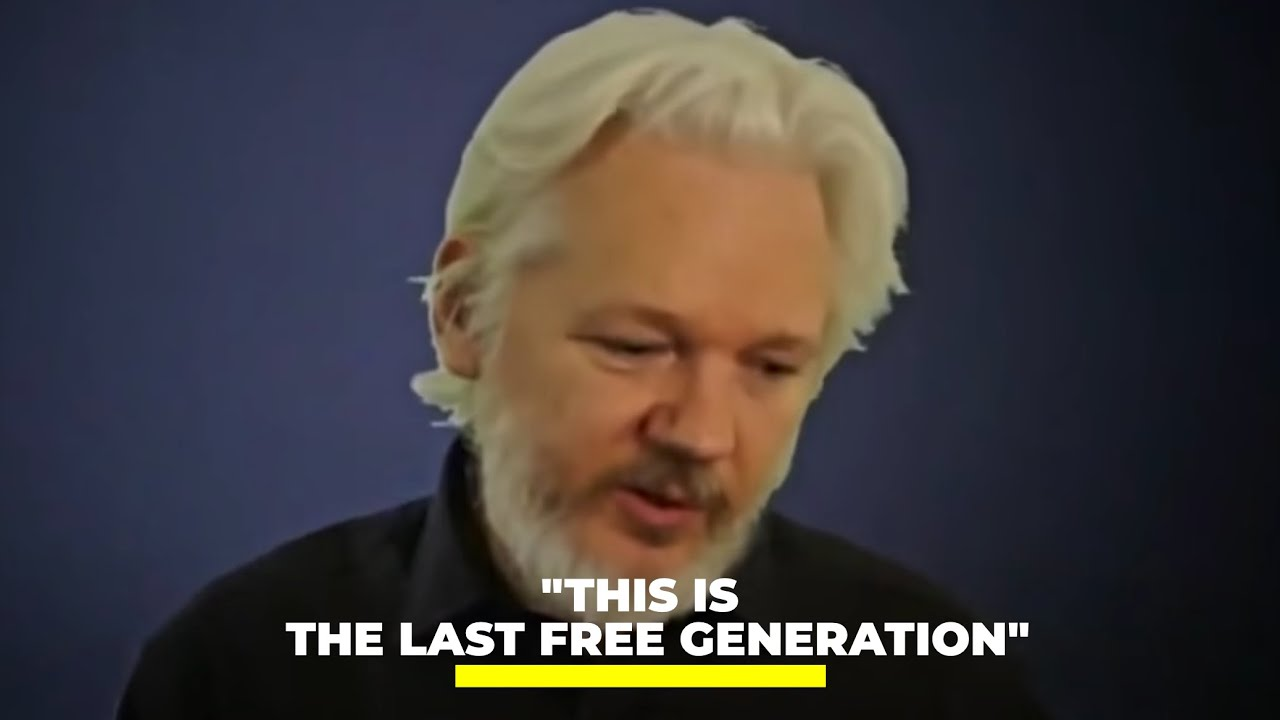 """Julian Assange: """"This is the last free generation"""" 