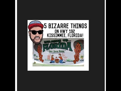 5 BIZARRE THINGS on Highway 192 Kissimmee, FL! (WORLD OF MICAH)
