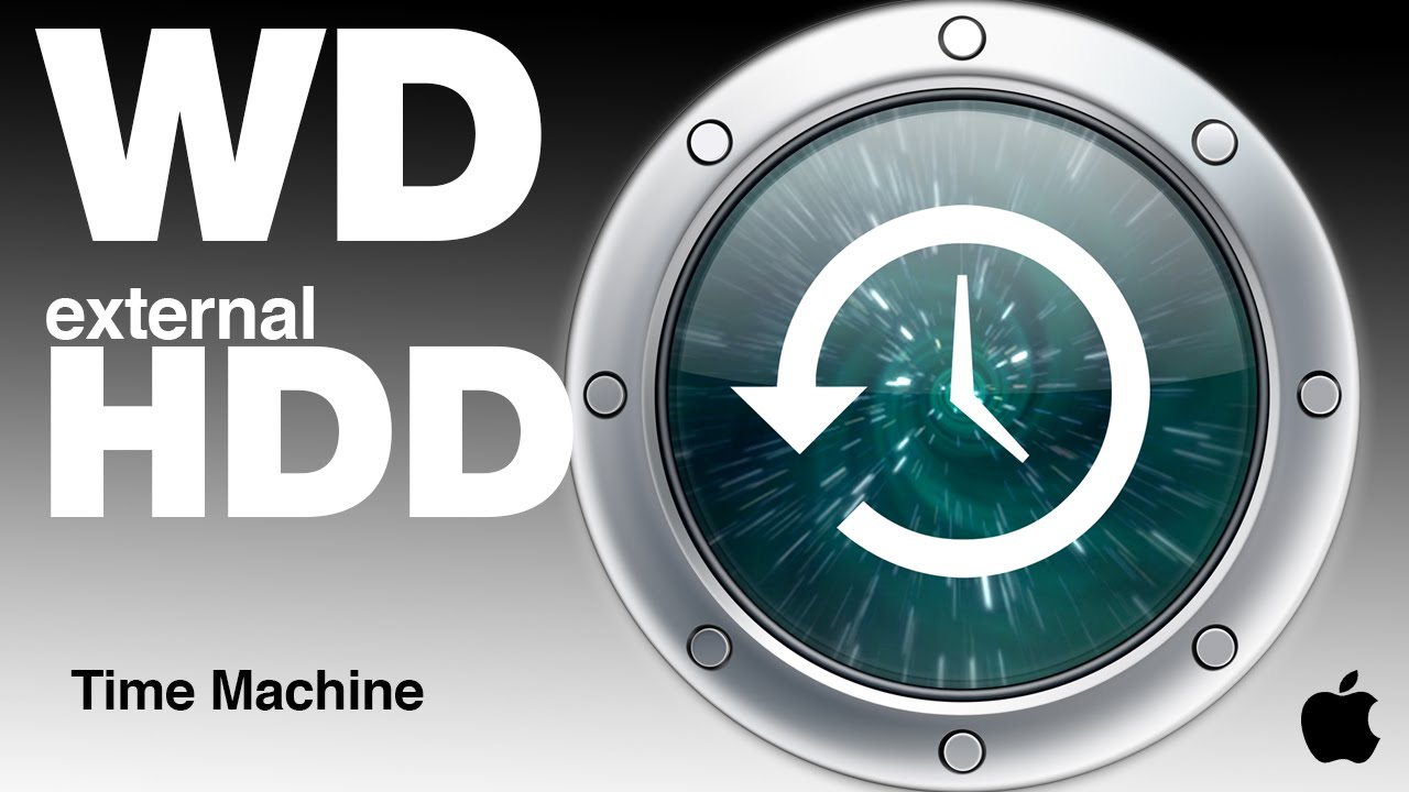 WD my Passport external hard drive how to use with Time Machine on Mac