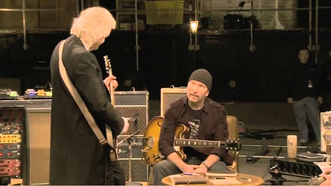 Resultado de imagen de Jimmy Page, Jack White, & Edge