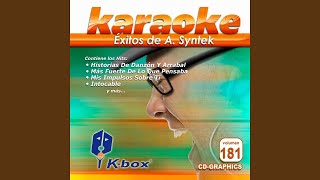 Tú Necesitas (Karaoke Version)