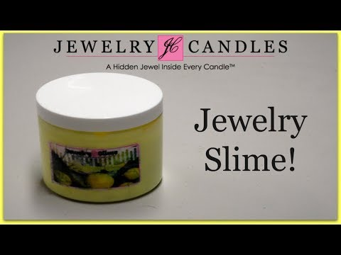 Jewelry Candles Ring Reveal - Jewelry Slime!