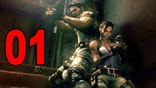 Resident Evil 5 - Part 1 - Introduction (Let
