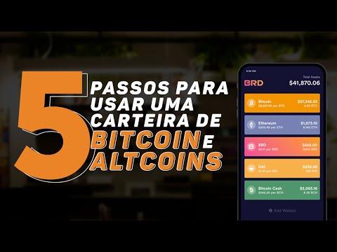 5 PASSOS PARA USAR UMA CARTEIRA DE CRIPTOMOEDAS