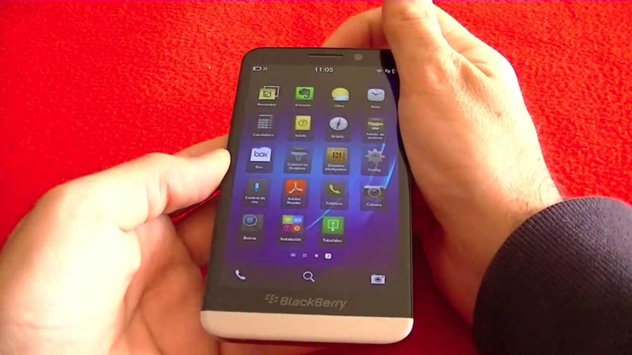 Blackberry Z30, primeras impresiones (en español)