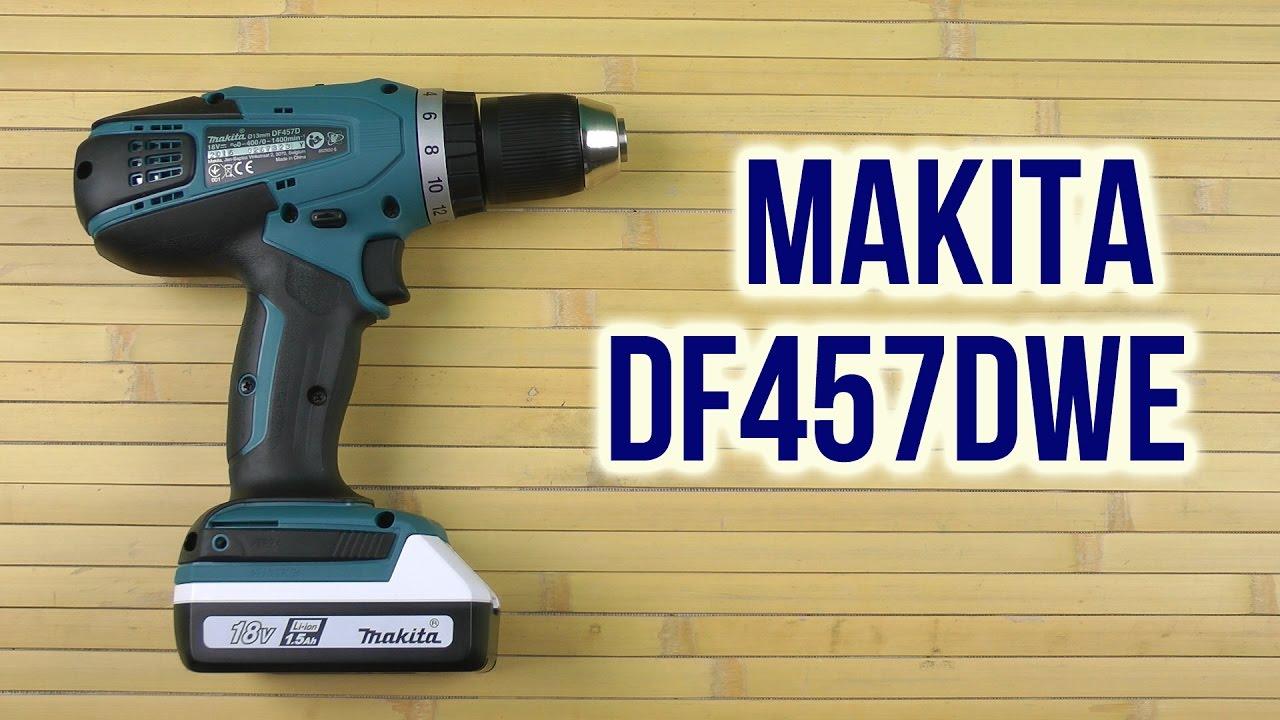 Favoriete Распаковка Makita DF457DWE - YouTube HX91