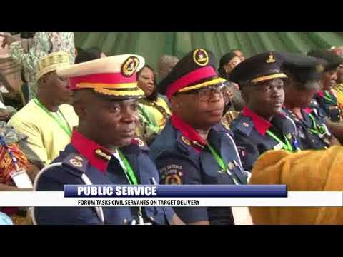 PUBLIC SERVICE: FORUM TASKS CIVIL SERVANTS ON TARGET DELIVERY
