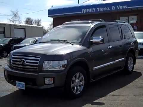Family Trucks and Vans 2005 Infinity QX56 Stock B20941 - YouTube