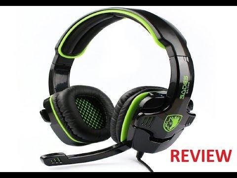aff5ddc4bc0 SADES SA-708 Stereo Gaming Headset Review - YouTube