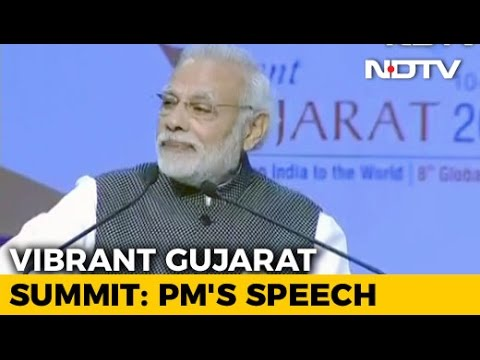 Vibrant Gujarat Summit 2017: Watch PM Narendra Modi's Full Speech