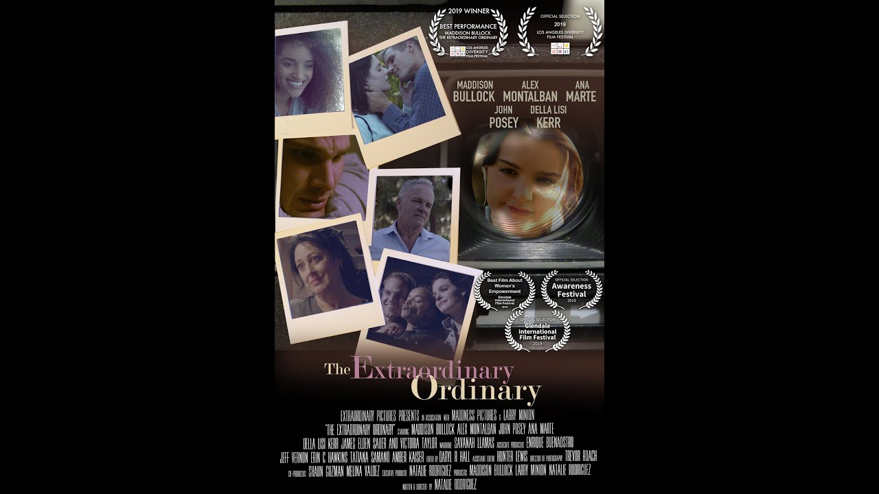 The Extraordinary Ordinary (feature film, AUG 28th, 2020)