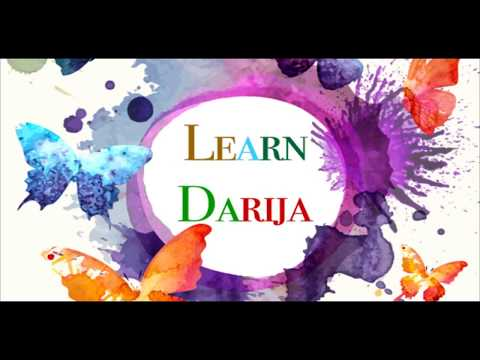 Let's All Talk Moroccan -Darija-introduce yourself-Lesson 1