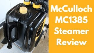 McCulloch MC1385 Steamer Review For Auto Detailers - Auto Detailing Steam Cleaning
