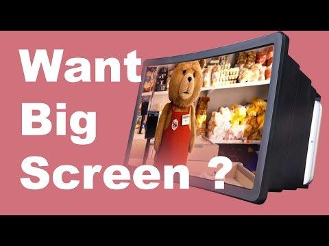 Mobile Phone Screen | Enlarge Screen Magnifier | 3D Enlarge Screen