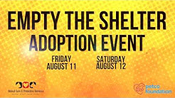Empty the Shelter Adoption Event