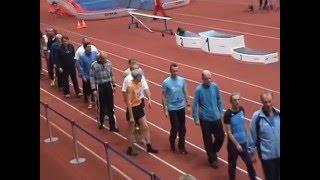 Чемпионат Санкт-Петербурга по легкой атлетике среди ветеранов. Часть 1